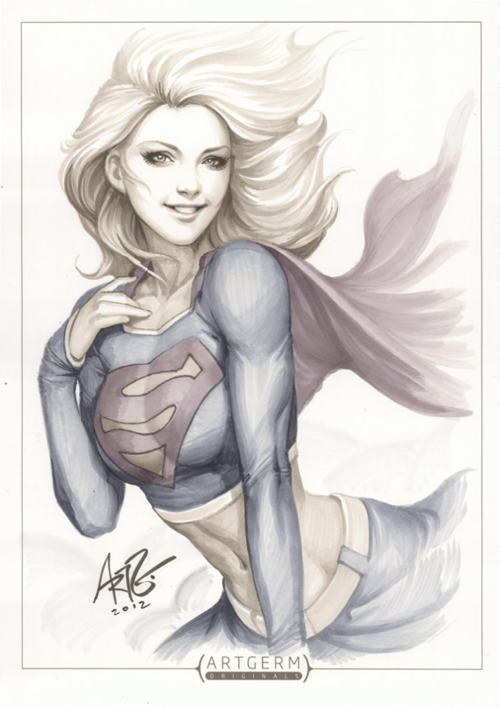 supergirl smile